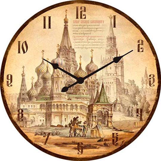 Настенные часы Михаил Москвин d470-MOSKVA