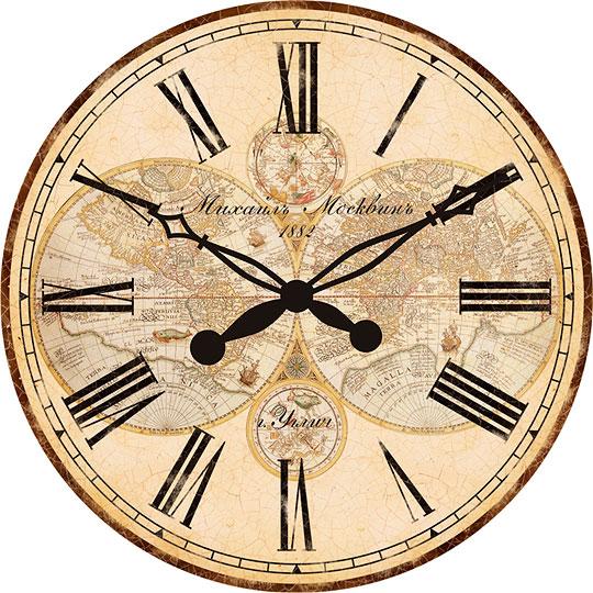 Настенные часы Михаил Москвин d470-ORBIS встраиваемый счетчик моточасов orbis conta emp ob180800