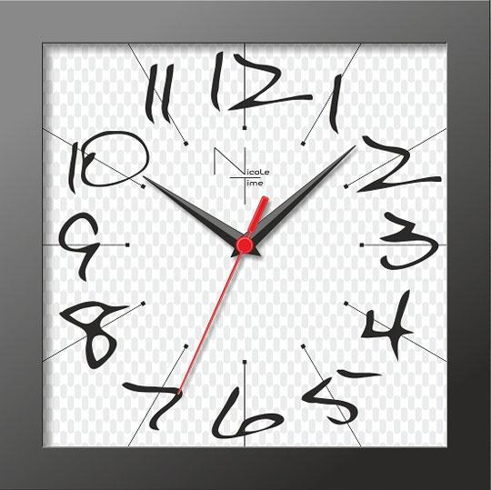 Настенные часы Nicole Time NT302b