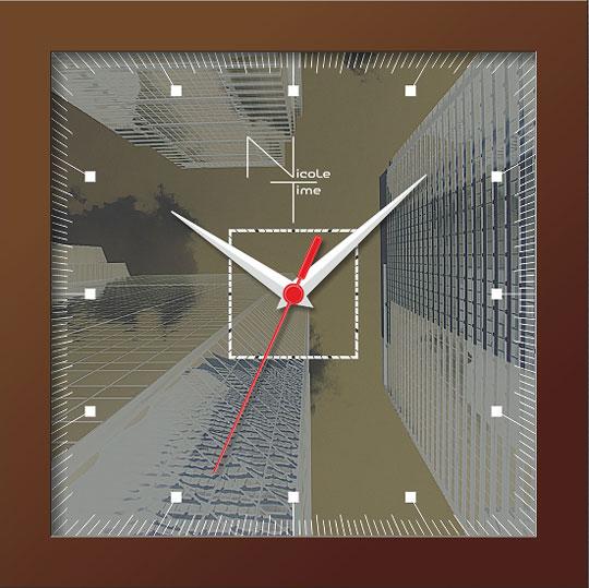 Настенные часы Nicole Time NT312