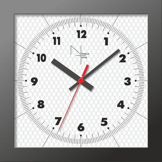 Настенные часы Nicole Time NT313b