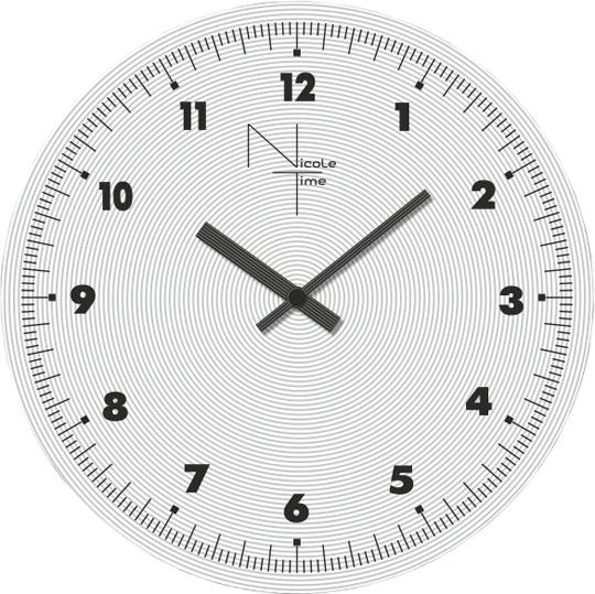 Настенные часы Nicole Time NT451