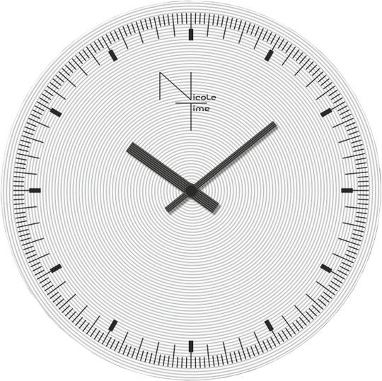 Настенные часы Nicole Time NT452 терентьев с нефть