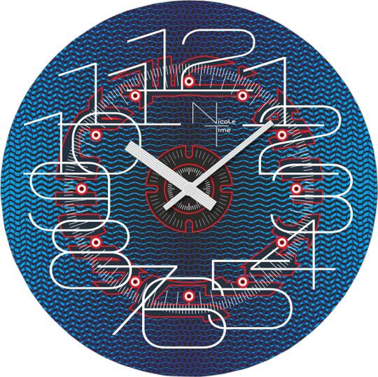 Настенные часы Nicole Time NT461