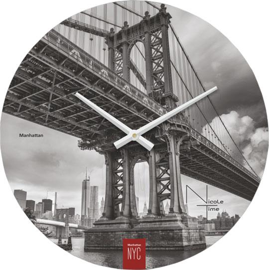 Настенные часы Nicole Time NT507