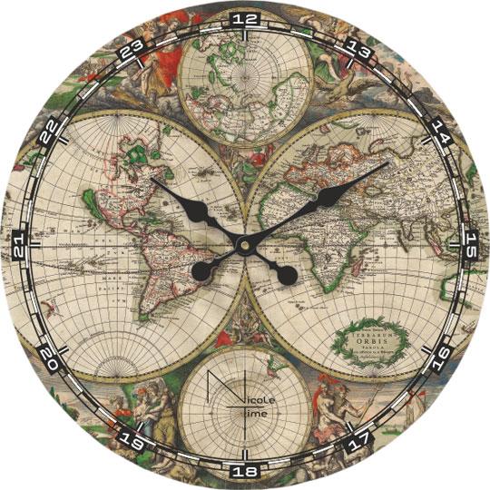 Настенные часы Nicole Time NT510