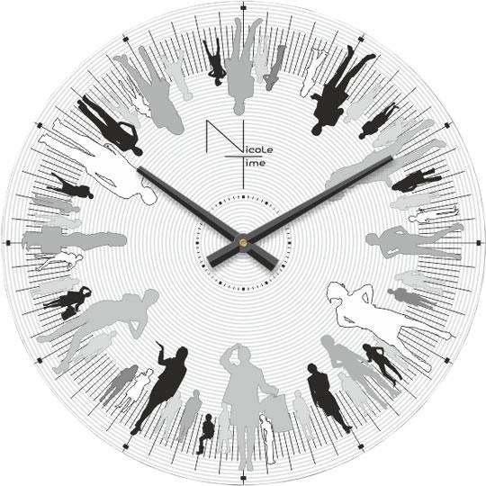 Настенные часы Nicole Time NT515