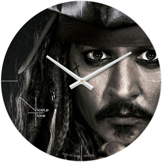 Настенные часы Nicole Time NT599 стальную трубку диаметр 5мм