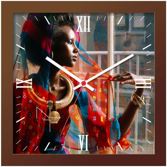Настенные часы Nicole Time NT652