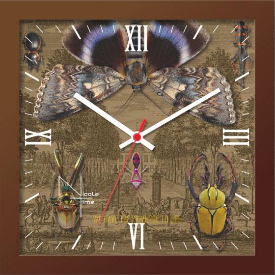 Настенные часы Nicole Time NT654