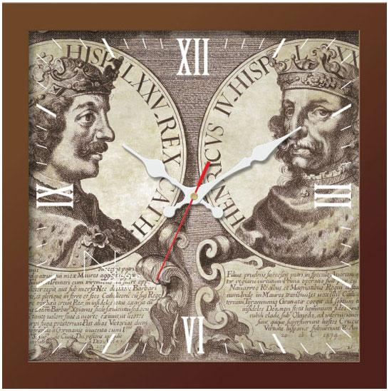 Настенные часы Nicole Time NT658br