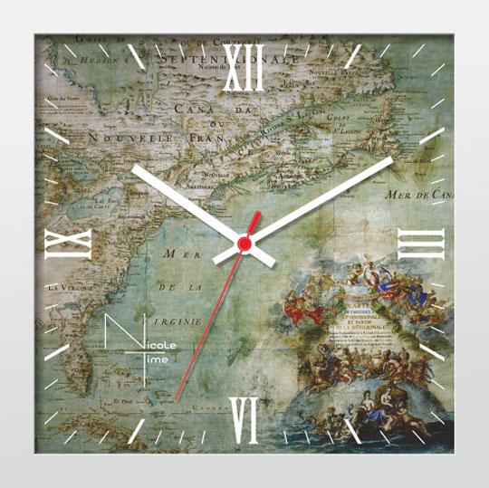 Настенные часы Nicole Time NT663