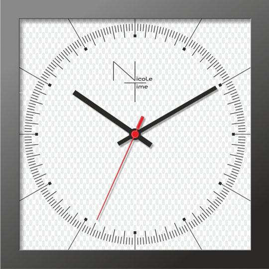 Настенные часы Nicole Time NT667b