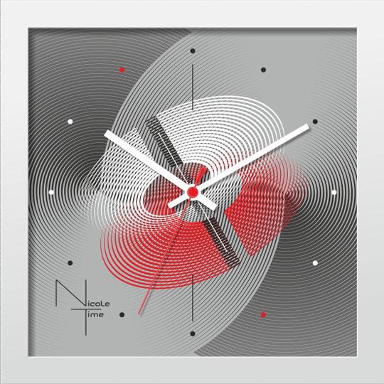 Настенные часы Nicole Time NT669