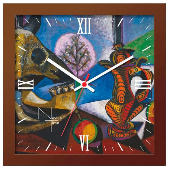 Настенные часы Nicole Time NT673