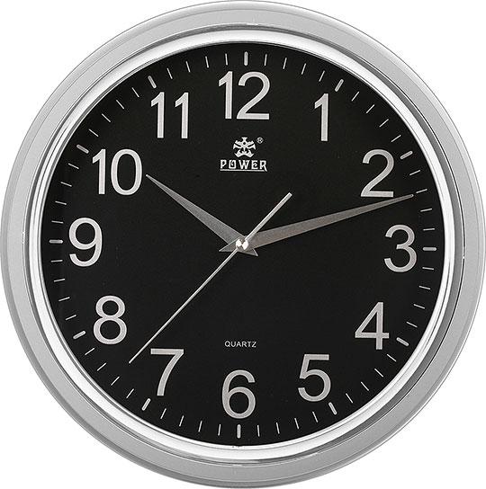 Настенные часы Power PW8228BKS