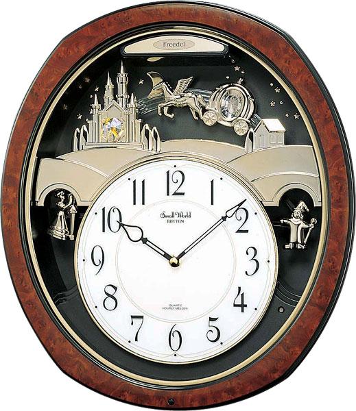 Настенные часы Rhythm 4MH762WD23 rhythm настенные часы rhythm cmg771nr02 коллекция