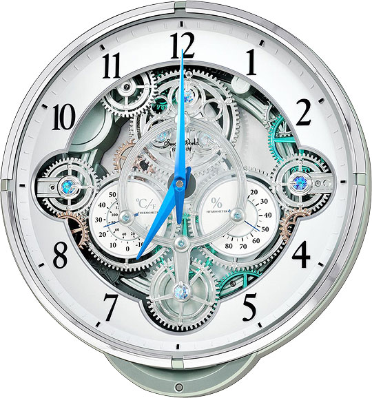 Настенные часы Rhythm 4MH886WD05