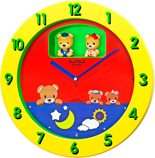 Настенные часы Rhythm 4MH894WD33