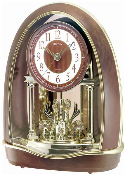 Купить со скидкой Настольные часы Rhythm 4RH781WD23