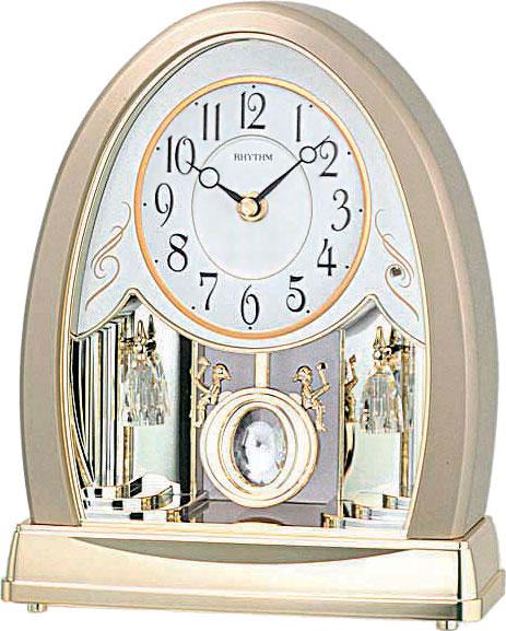 Настольные часы Rhythm 4RJ635WD18 single wood tone block rhythm percussion