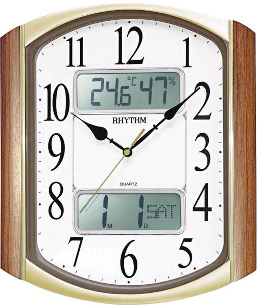 Настенные часы Rhythm CFG708NR06 rhythm настенные часы rhythm cmg771nr02 коллекция