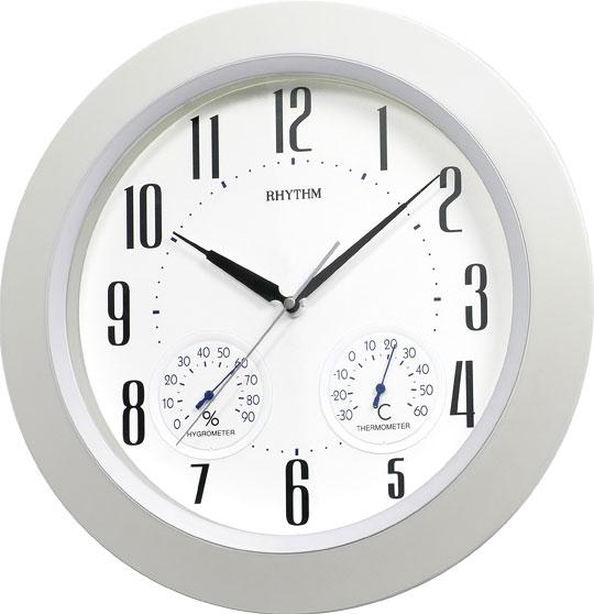 Настенные часы Rhythm CFG712NR03 часы настенные la mer с гигрометром и термометром d324мм