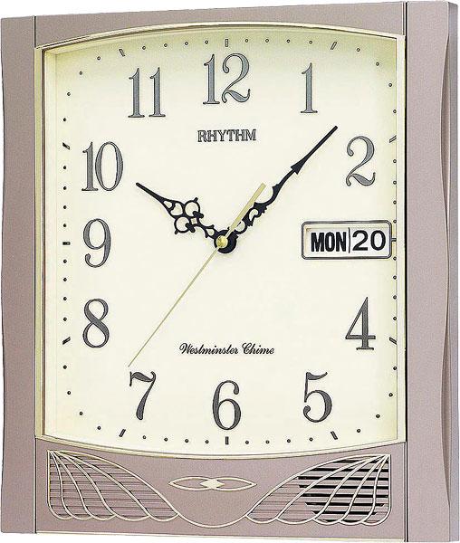 Настенные часы Rhythm CFH104NR18 часы rhythm cfh104nr18