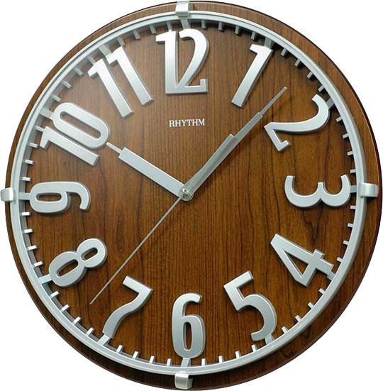 Настенные часы Rhythm CMG106NR06 rhythm настенные часы rhythm cmg771nr02 коллекция