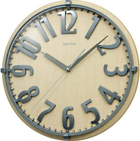 Настенные часы Rhythm CMG106NR07 rhythm настенные часы rhythm cmg771nr02 коллекция