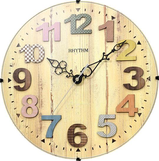 Настенные часы Rhythm CMG117NR06 rhythm настенные часы rhythm cmg771nr02 коллекция