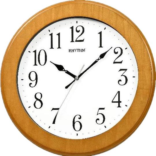 Настенные часы Rhythm CMG129NR07 rhythm настенные часы rhythm cmg129nr07 коллекция настенные часы