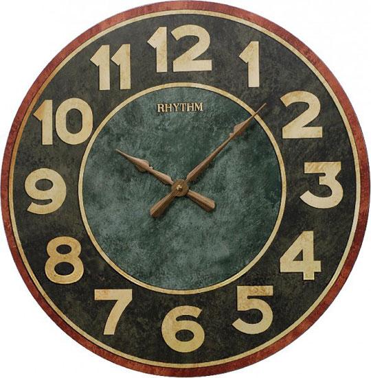 Настенные часы Rhythm CMG288NR02 rhythm настенные часы rhythm cmg771nr02 коллекция