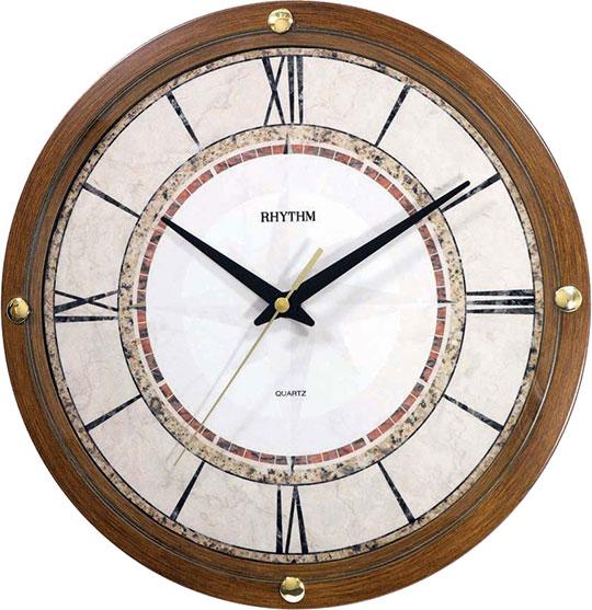 Настенные часы Rhythm CMG401NR06 rhythm настенные часы rhythm cmg771nr02 коллекция