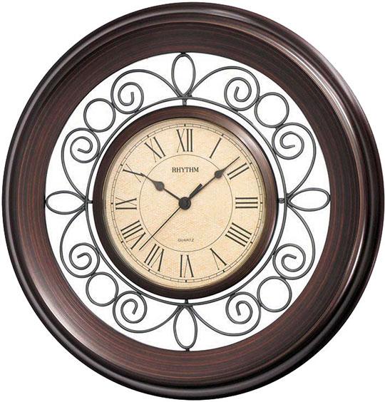 Купить со скидкой Настенные часы Rhythm CMG414NR06