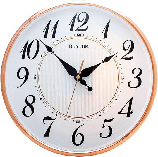 Настенные часы Rhythm CMG465BR13 пустышки nuk ортодонтическая силиконовая для сна freestyle размер 3 с 18 мес