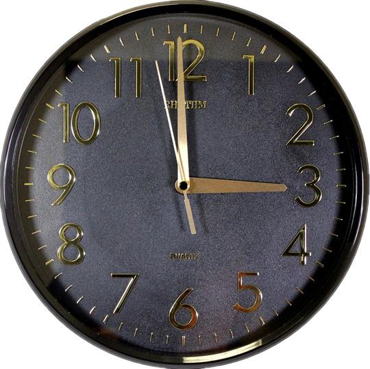 Настенные часы Rhythm CMG716NR02 часы настенные 20 5 26см 1226975