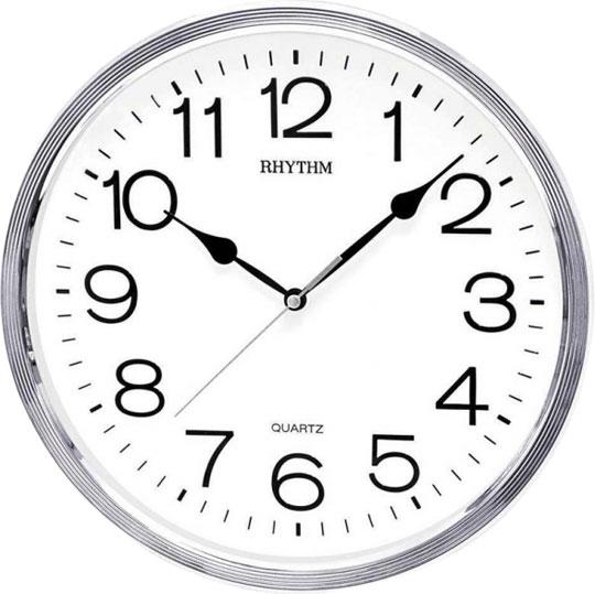Купить со скидкой Настенные часы Rhythm CMG734BR19