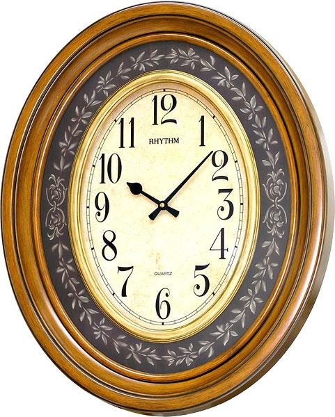 Настенные часы Rhythm CMG735NR06 rhythm настенные часы rhythm cmg771nr02 коллекция