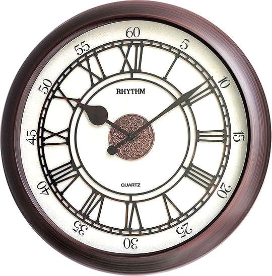 Настенные часы Rhythm CMG743NR06 rhythm настенные часы rhythm cmg743nr06 коллекция century
