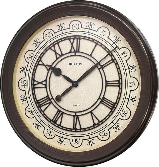 Настенные часы Rhythm CMG744NR06 rhythm настенные часы rhythm cmg771nr02 коллекция