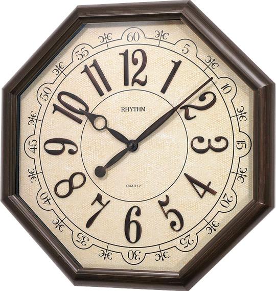 Настенные часы Rhythm CMG745NR06 rhythm настенные часы rhythm cmg771nr02 коллекция