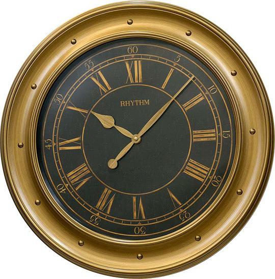 Настенные часы Rhythm CMG765NR65 настенные часы русский меценат рм 765
