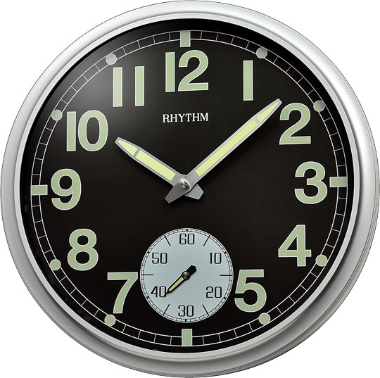 Настенные часы Rhythm CMG774BR19
