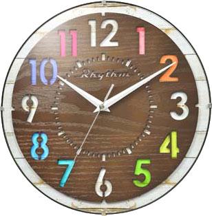 Настенные часы Rhythm CMG778NR06 часы настенные mauricio relli armonia рм 778