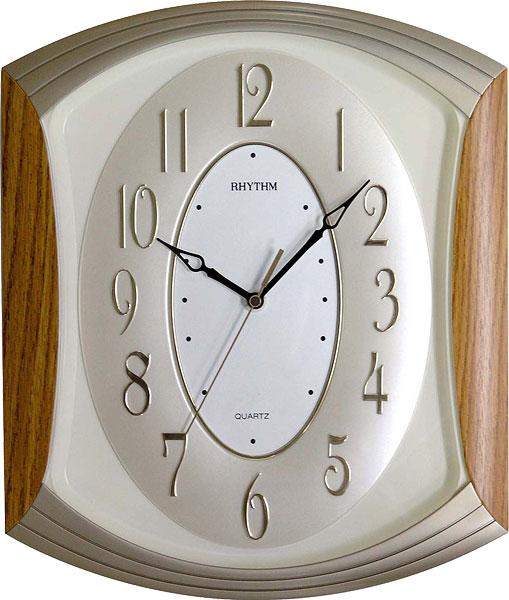 Настенные часы Rhythm CMG856NR07 rhythm настенные часы rhythm cmg771nr02 коллекция
