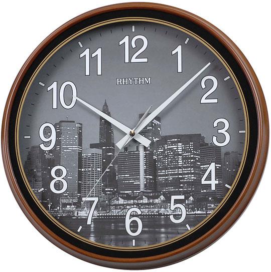 Настенные часы Rhythm CMG898AZ37 rhythm настенные часы rhythm cmg771nr02 коллекция