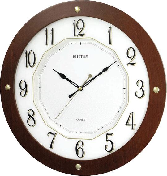 Настенные часы Rhythm CMG977NR06 rhythm настенные часы rhythm cmg771nr02 коллекция