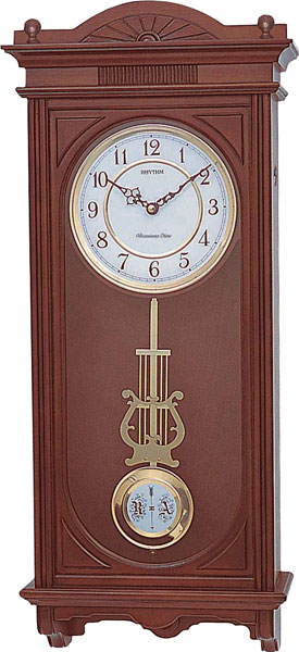 Настенные часы Rhythm CMJ341SR06