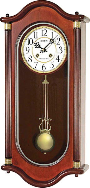Настенные часы Rhythm CMJ445CR06 часы rhythm cmj445cr06